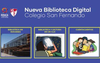 ¡Tenemos una nueva biblioteca virtual increíble!