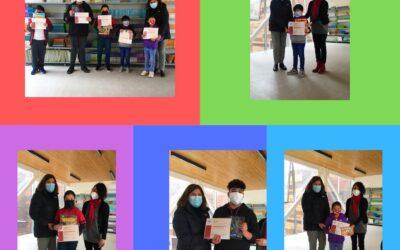 ¡Felicitaciones a los ganadores del concurso de Cómics!