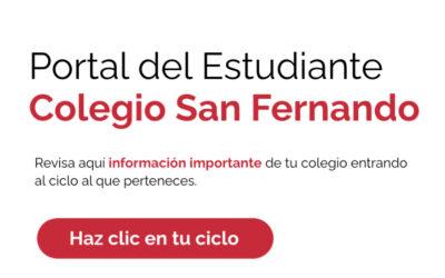 Portal del Estudiante: Accede a horarios, planes y reglamentos
